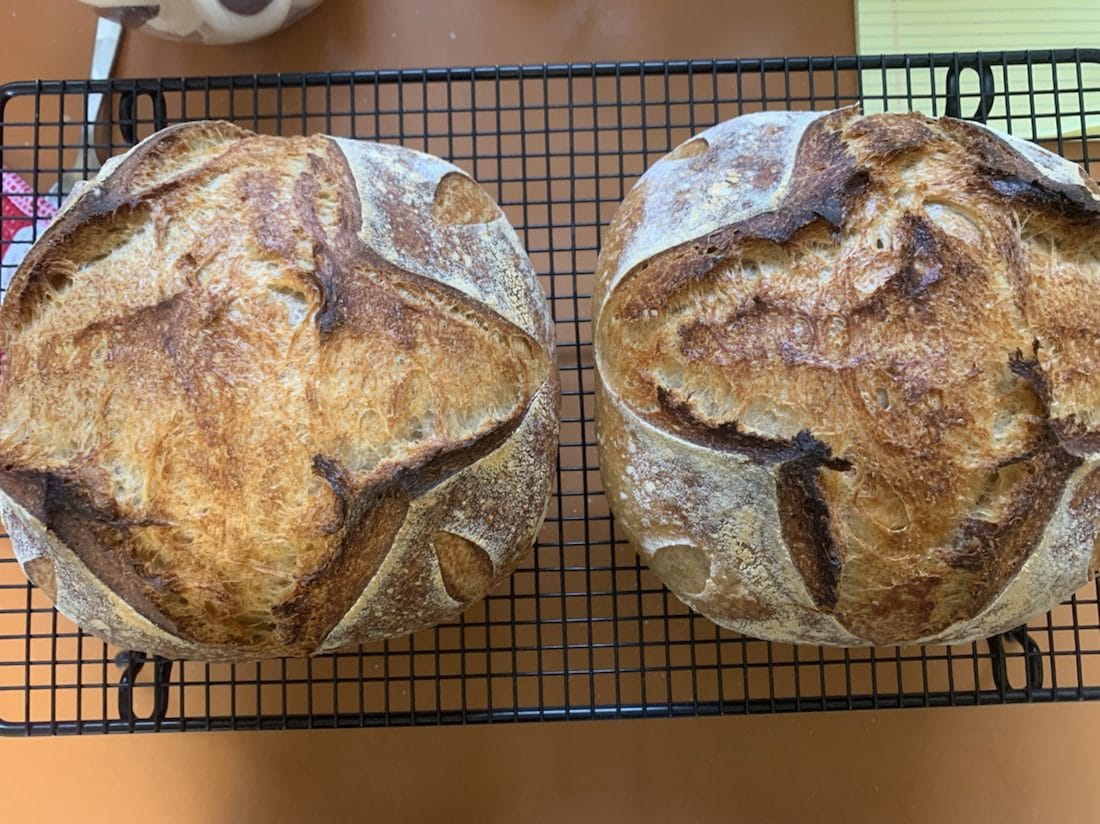 2 scrummy loaves