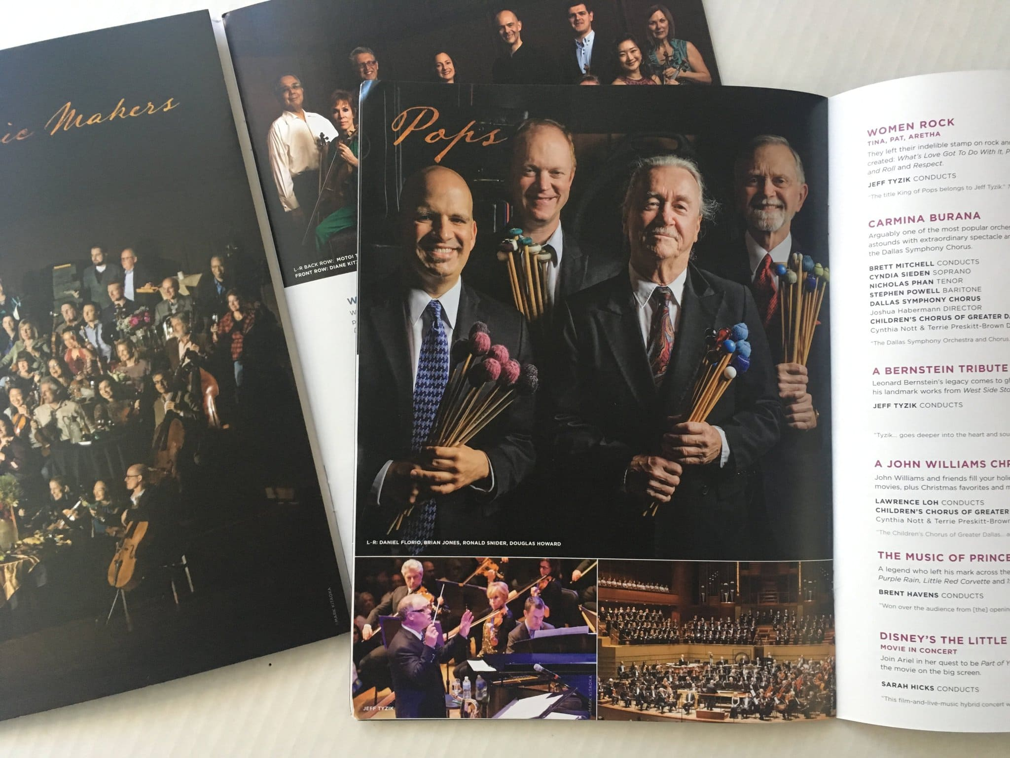 Dallas Symphony Orchestra Brochure